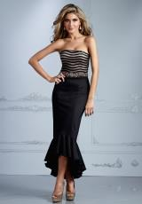 Terani Evenings C2084.  Available in Black/Nude