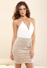 Terani Evenings C3301.  Available in Ivory/Nude
