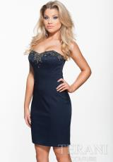 2014 Terani Fitted Homecoming Dress H3707
