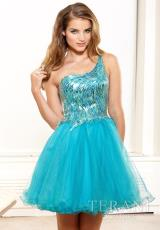 2014 Terani Tulle Skirt Prom Dress P3016