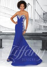 2014 Tiffany Cut Out Back Prom Dress 16017