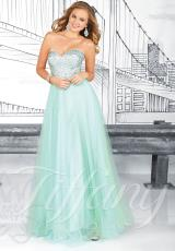 2014 Tiffany A Line Prom Dress 16018