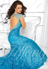 2014 Tiffany Open Back Prom Dress 16034