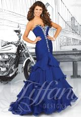 2014 Tiffany Ruched Bodice Prom Dress 16041