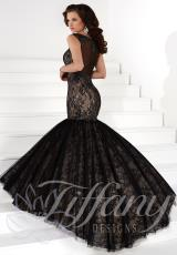 Tiffany 16105.  Available in Black/Nude, Pink/Nude