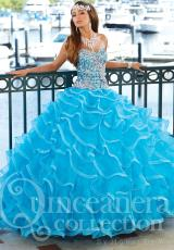 Tiffany Quinceanera 26752.  Available in Teal, Turquoise