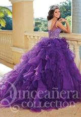 2014 Tiffany Quince 26764 Ruffled Skirt Dress