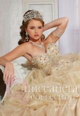 2014 Tiffany Quince 26768 Beaded Top Dress