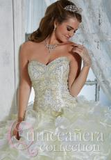 Tiffany Quinceanera 26783.  Available in Sky/Pink, White/White, Yellow/White