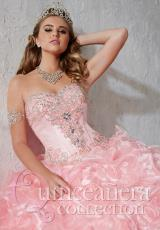 Tiffany Quinceanera 26784.  Available in Orange, Pink, White