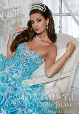 Tiffany Quinceanera 26785.  Available in Pink/Fuchsia, Sky/Turquoise, White/White
