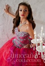 Tiffany Quinceanera 26789.  Available in Fuchsia/Purple, Royal/Turquoise, White/White