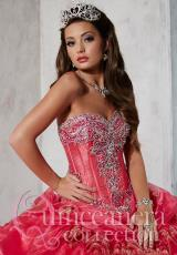 Tiffany Quinceanera 26796.  Available in Fuchsia/Gold, Turquoise/Gold