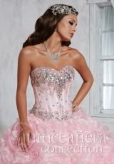 Tiffany Quinceanera 26798.  Available in Pink, Sky Blue, White