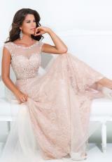 2014 Tony Bowls Evenings Lace Dress TBE11415
