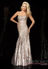 Tony Bowls Evenings TBE11425.  Available in Champagne