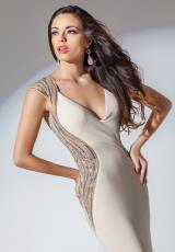 Tony Bowls Evenings TBE11505.  Available in Champagne, Navy Blue