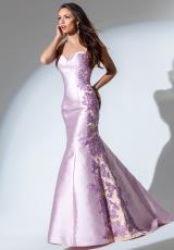 Tony Bowls Evenings TBE11519.  Available in Ivory/Gold, Lavender