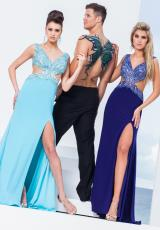 Tony Bowls Evenings TBE11545.  Available in Dark Purple, Turquoise
