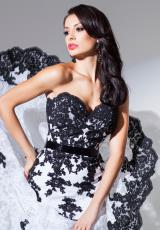 Tony Bowls Evenings TBE11560.  Available in White/Black