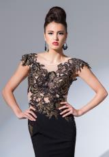 Tony Bowls Evenings TBE11563.  Available in Black/Gold