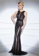 Tony Bowls Evenings TBE21420.  Available in Black/Nude