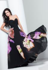Tony Bowls Evenings TBE11552.  Available in Black/Purple Multi