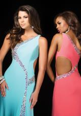 Tony Bowls Le Gala 114517.  Available in Coral, Light Blue