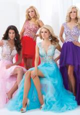 Tony Bowls Le Gala 114548.  Available in Pink, Purple/Nude, Red/Nude, Turquoise/Nude