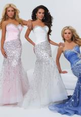 Tony Bowls Paris 114722.  Available in Ivory, Pink, Wedgwood
