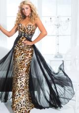 Leopard 2014 Tony Bowls Paris Prom Dress 114751