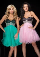 Tony Bowls Shorts TS11464.  Available in Green/Black, Pink/Black