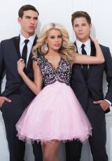 Tony Bowls Shorts TS11465.  Available in Pink/Black