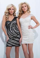 Tony Bowls Shorts TS11466.  Available in Black/Nude, Champagne