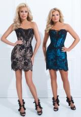 Tony Bowls Shorts TS11467.  Available in Black/Champagne, Black/Turquoise