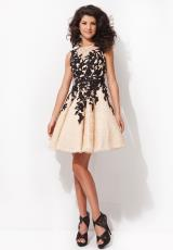 Tony Bowls Shorts TS21462.  Available in Nude/Black, White/Black