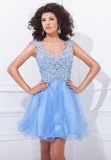 Tony Bowls Shorts TS21471.  Available in Light Periwinkle, Turquoise