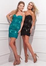 Tony Bowls Shorts TS21472.  Available in Black, Teal