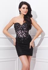 Tony Bowls Shorts TS21476.  Available in Black/Pink