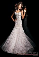 Tony Bowls Evenings TBE11306.  Available in White/Nude