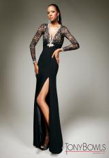 Tony Bowls Evenings TBE11331.  Available in Black/Nude, Gray, Red