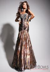 Tony Bowls Evenings TBE11335.  Available in Coral/Multi