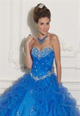 2013 Vizcaya Quinceanera Corset Dress 88004