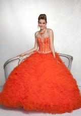 Ruffled 2013 Vizcaya Quinceanera Dress 88053