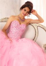 Strapless 2014 Vizcaya Quinceanera Dress 88084