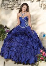 2013 Lace Back Vizcaya Quinceanera Dress 88027