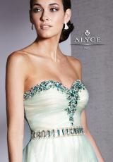 2013 Alyce Beautiful Empire Waist Prom Dress 5533