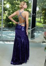 2013 Alyce Sequins Prom Dress 6016