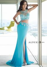 Alyce 6391.  Available in Coral, Ivory, Sea Breeze, Turquoise