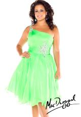 Fabulouss Plus Size 64744F.  Available in Lime, Neon Coral